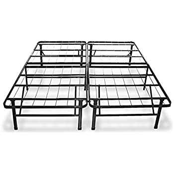 Best Price Mattress New Innovated Box Spring Metal Bed Frame Queen