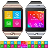 Indigi® SWAP (Smart Watch And Phone) GSM Quanband Bluetooth SmartWatch Phone Capacitive Color Touch Screen Built-in Pedometer & Sleep Monitor