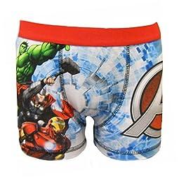 Marvel Avengers Little Boy\'s 1 Pack Boxer Shorts 4-5 Years