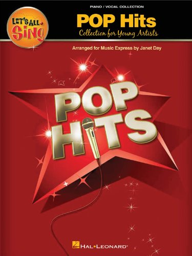 Let's All Sing Pop Hits - Collection for Young Artists (Performance/Accompaniment CD)