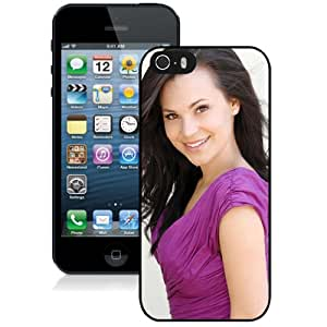 Unique Designed Cover Case For iPhone 5s With Rosanna Pansino Girl Mobile Wallpaper Phone Case