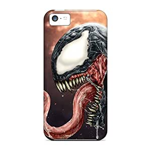 Durable Cases For The Iphone 5c- Eco-friendly Retail Packaging(venom) wangjiang maoyi
