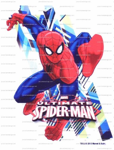"8"" ~ Ultimate Spider-Man Birthday ~ Edible Image Cake/Cupcake Topper!!!"
