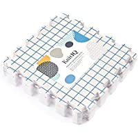 KnitIQ Blocking Mats for Knitting - Extra Thick Blocking Boards with Grids