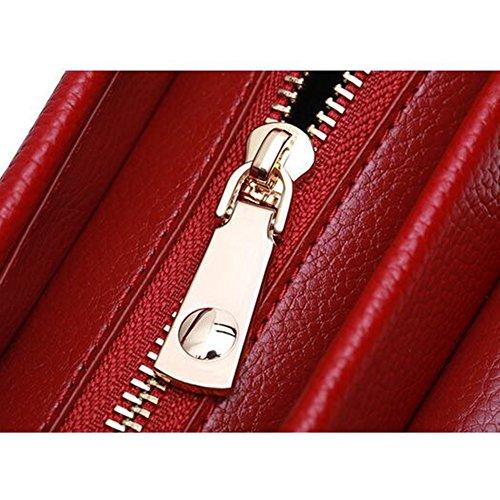 LS Leder Diagonale Laptop-Tasche Der Ledernen Hauptschichtlederart Und Weise VkWlpWMB