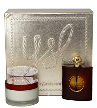 Saint Parfum Opium De Laurent Femme Yves Cadeaueau Coffret Pour NwPk0nZ8XO