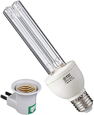 2020 Neueste Version UV-C Desinfektionslampe UV Keimt/ötende Lampe 60W 230V E27 Sockel 99,9/% Sterilisationsrate UV Desinfektionslampe Desinfektionslampe f/ür Badezimmertoiletten im Hotelhaushalt
