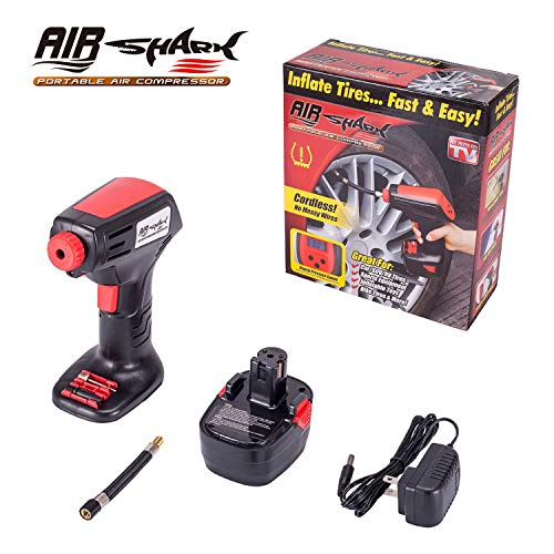 Portable Air Compressors Battery Tire Inflator Cordless Car