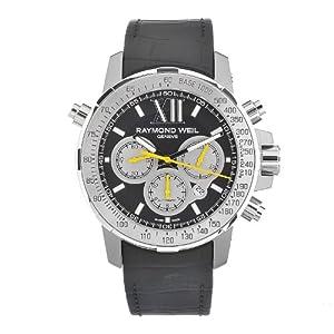 Raymond Weil Men's 7800-Tir-00207 Automatic Titanium Black Dial Chronograph Watch