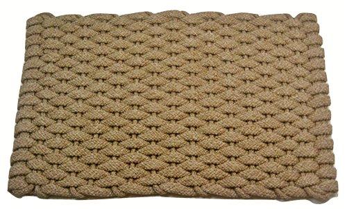 Rockport Rope Doormats 2438224 Indoor and Outdoor Doormats, 24 by 38-Inch, Tan