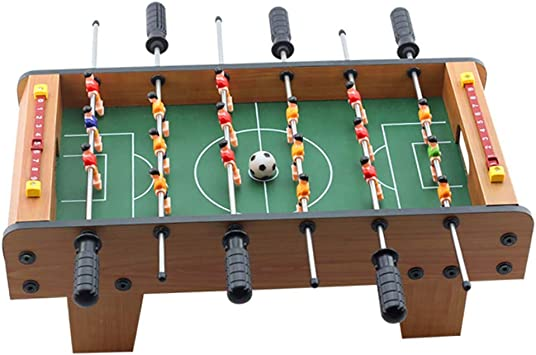 ZHJIUXING ZQ Portátil Futbolín de Mesa con Juego de Accesorios, Campos de Juego Perfectamente levantados, Patada de Mesa, Kicker, futbolín Regalo para niños: Amazon.es: Deportes y aire libre
