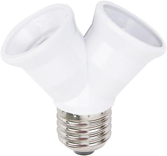 1x Adapter Leuchtmittel Glühbirnen Glühlampen />/>/> Fassung E27 auf GU10