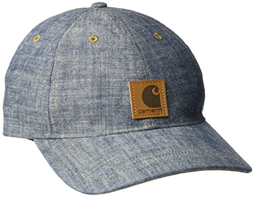 - Carhartt Women's Odessa Chambray Cap, Light Indigo, One Size