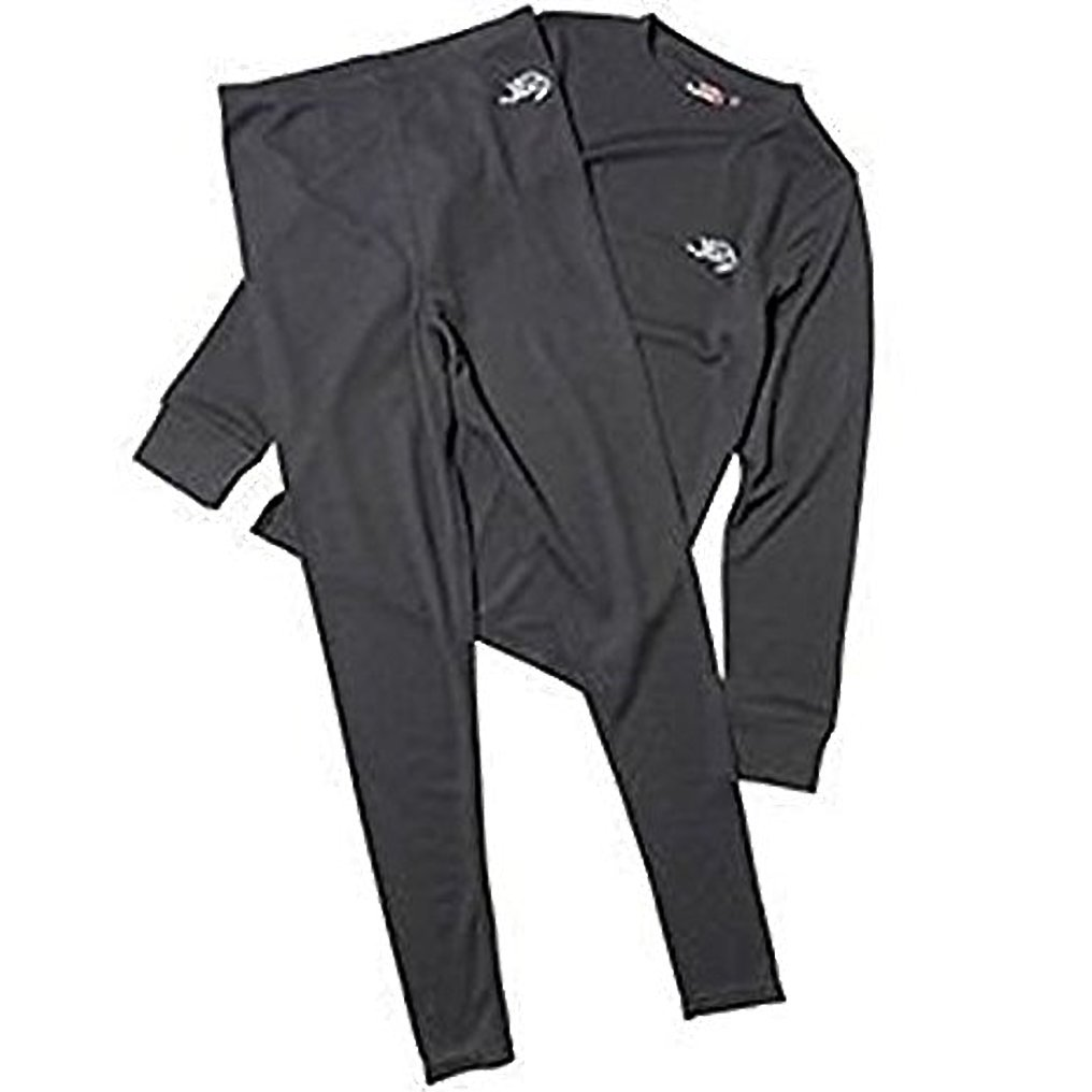 Kangaroo Poo Junior Baselayer Pant & Top Set Black 7-8 Year Old Brand New