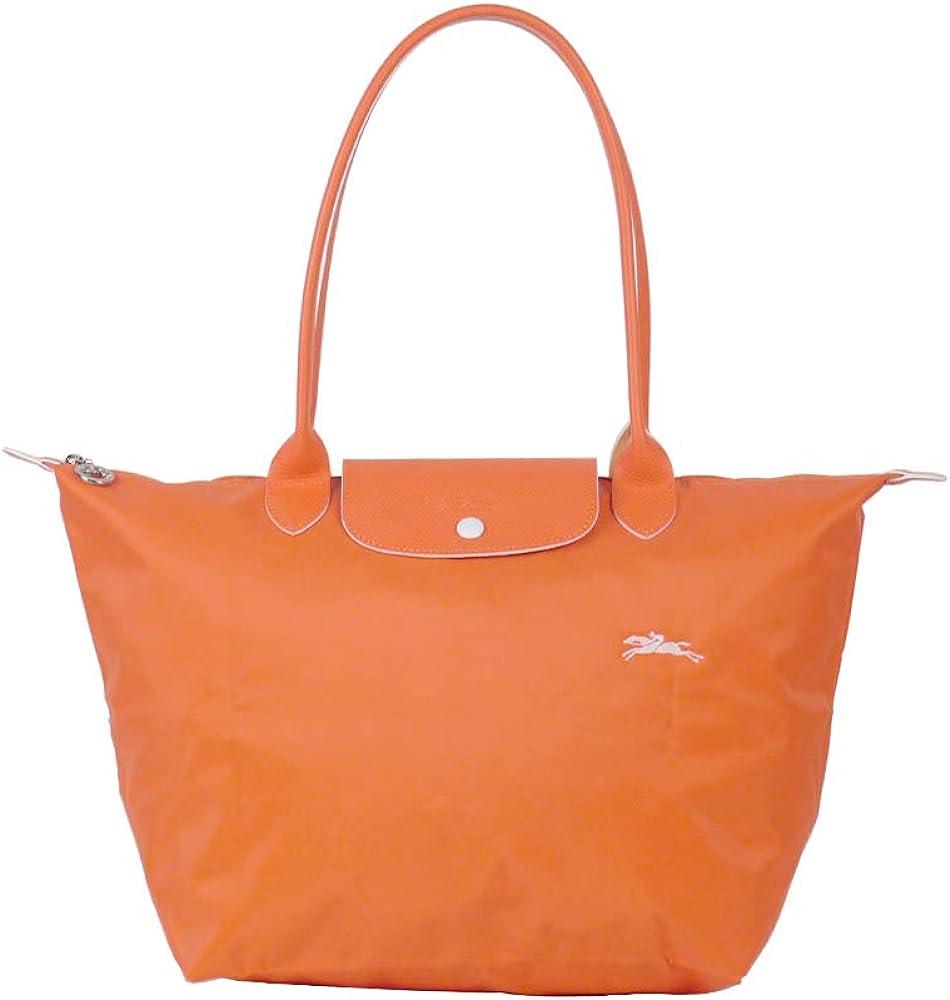 LongChamp Women's Le Pliage Large Shoulder Tote Bag Orange