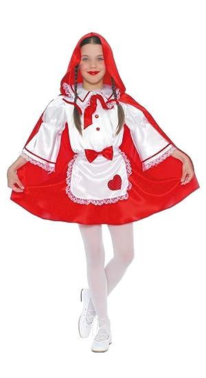 Disfraz de Caperucita roja (4-6 años): Amazon.es: Juguetes y juegos