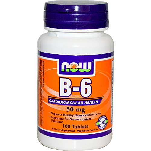 B-6 50mg 100 Tablets (Pack of 2)