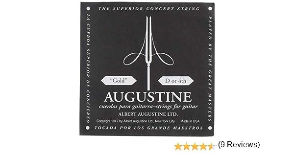 Augustine Cuerdas para Guitarra Clásica, Oro (Gold Label), D4 ...
