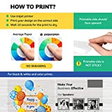 (30 Sheets) Transparency Paper For Inkjet Printer