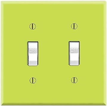 Graphics Wallplates Simply Lime Dual Toggle Wall Plate Cover Amazon Com