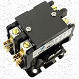Replacement for Carrier Double (2) Two Pole 30 Amp Replacement Condenser Contactor HN52KC025