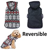 Dogo Reversible Sweater Trench Coat For Cat Dog Puppy Pet (XXL)
