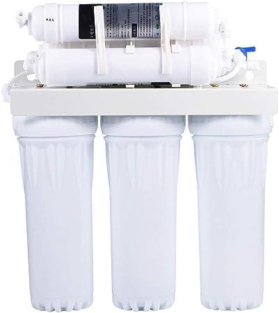 EBTOOLS Sistema de Filtrado de Agua 6 Etapas, Purificador de Agua ...