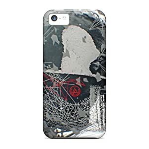 Shock-Absorbing Hard Phone Cover For Iphone 5c With Allow Personal Design Beautiful Linkin Park Series AaronBlanchette