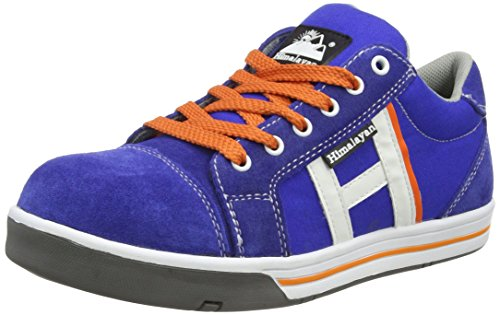 Canvas Steel Toe Sneaker Shoe (Himalayan 5127 SBP SRA Blue Steel Toe Cap Skater Style Safety Tennis Shoes Sneakers (US 12))