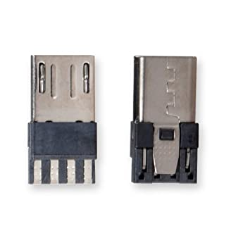 amazon com micro usb male port connector conwork 10 pack straight rh amazon com usb connectors wiring usb jack soldering