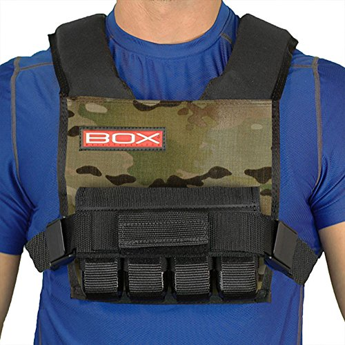 20LBS BOX Super Short Weight Vest Made in USA