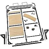 Full-Size I-Semble Vertical-Mount Murphy Bed Hardware with Mattress Platform