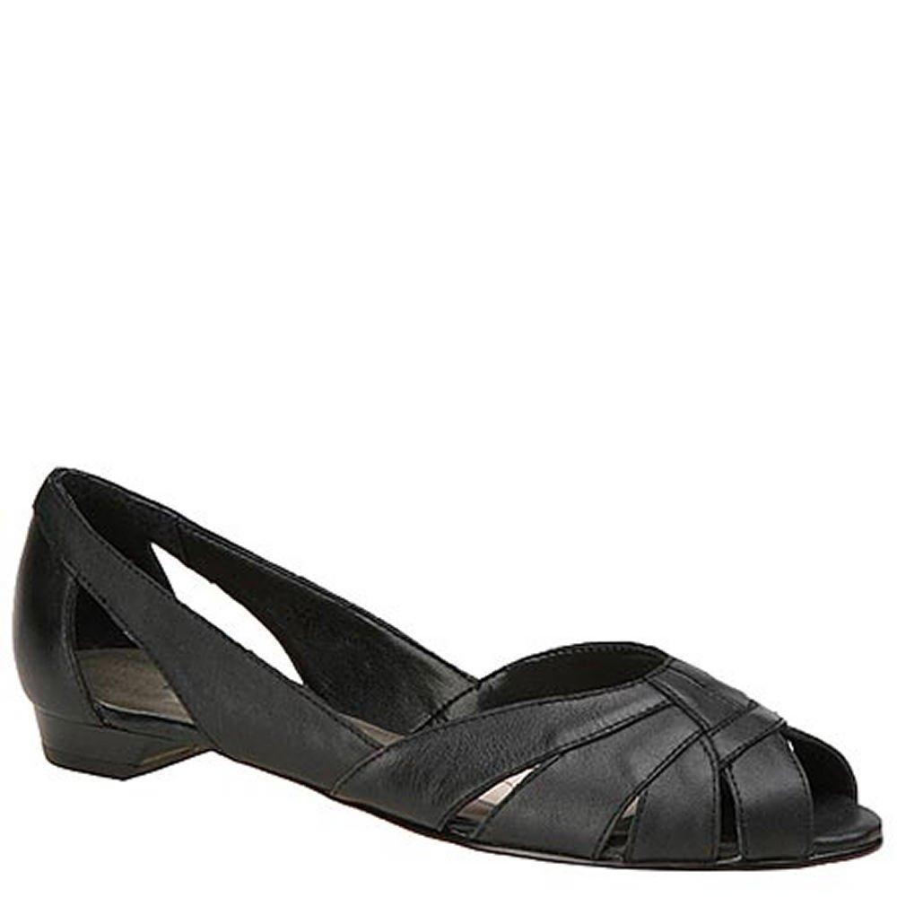 Mark Lemp Classics Womens Zuzu Peep Toe Ballet Flats B0012TA4L8 5.5 M US|Black