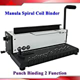 All Steel Metal Wire Coil 34Holes Punching Binding Machine Binder Puncher(Item026721)