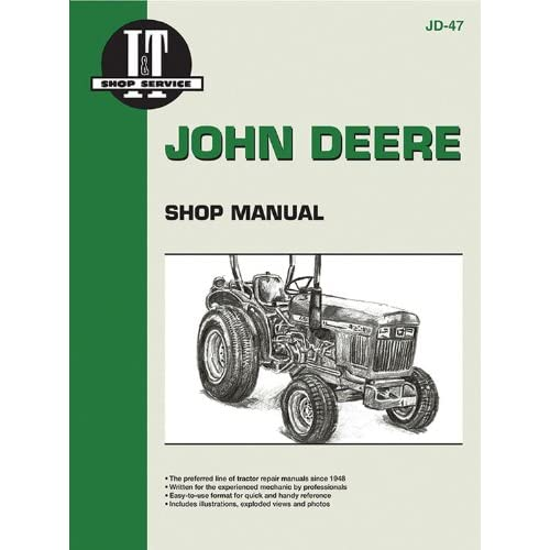John Deere Shop Manual 850 950 & 1050 (I & big image