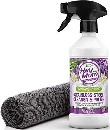 Hey Mom Stainless Cleaner Appliances product image