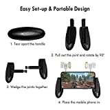 GameSir F2 Firestick Grip Mobile Phone Gaming Controller Grip Case with Sensitive L1R1 Mobile Triggers for Fortnite/PUBG/Knives Out/Rules of Survival, Upgraded Version