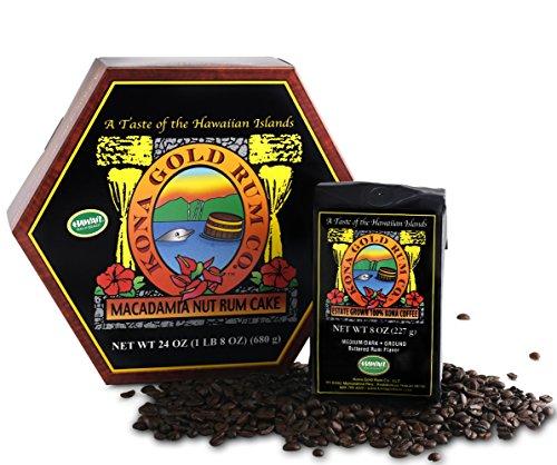 Kona Gold Rum Co. 24 oz. Macadamia Nut R - Estate Dark Rum Shopping Results