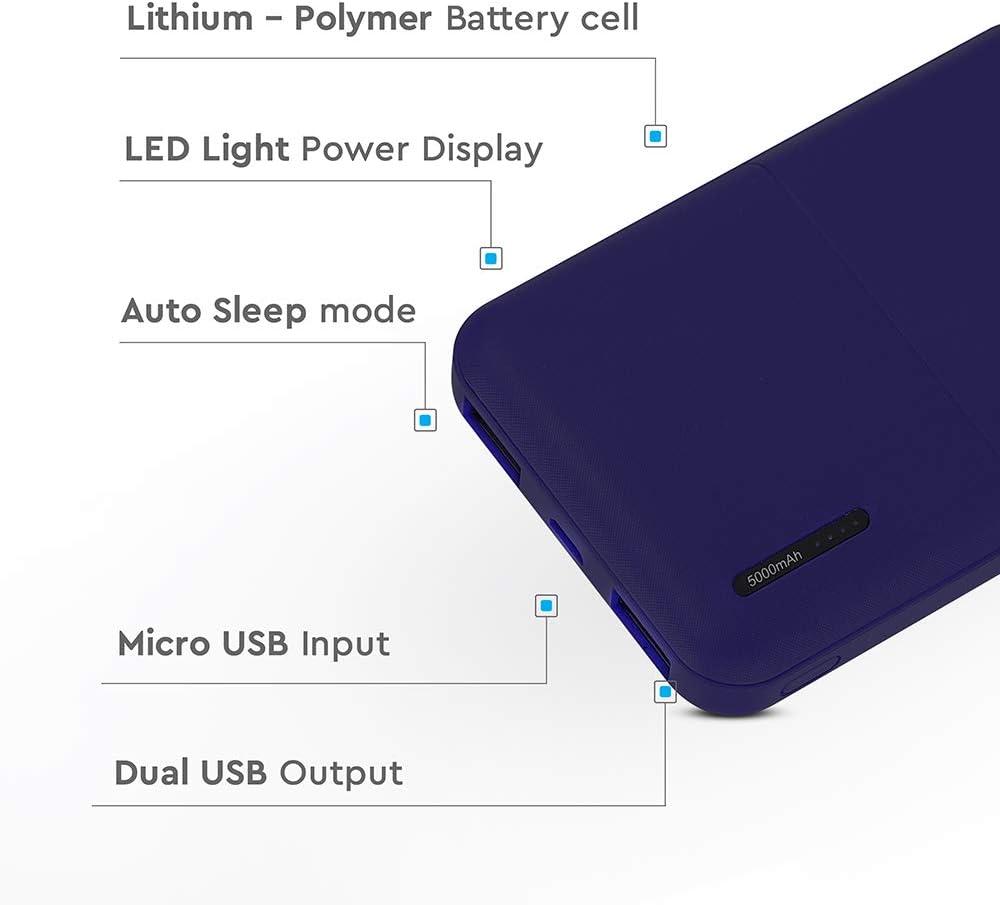 V Tac Super Portable Powerbank 5000mah Elektronik