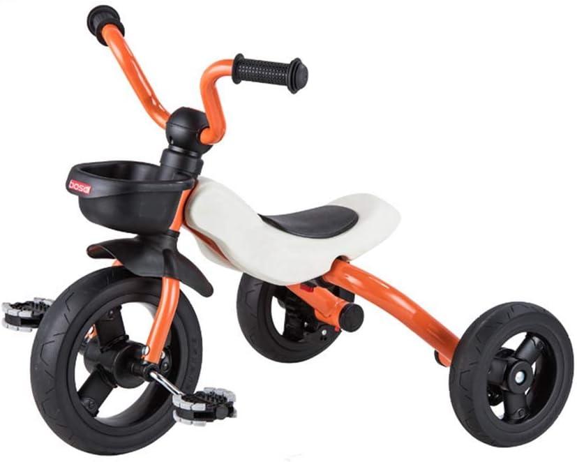 YIAIY Bicicletas De Los Niños, Triciclo Plegable Harley-Estilo Frente, Apto para Niños De 2-5