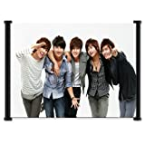 SS501 Kpop Fabric Wall Scroll Poster (24'x16') Inches