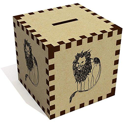 Azeeda 'Majestic Lion' Money Box / Piggy Bank (MB00006372) ()