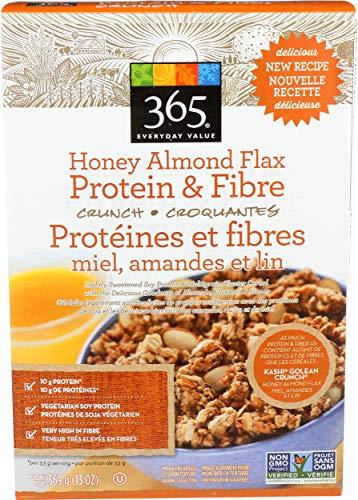 365 Everyday Value, Honey Almond Flax, Protein & Fiber, 13 oz