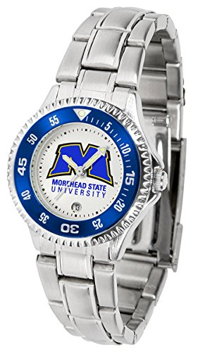 Linkswalker Morehead State University Eagles Competitor Ladies Steel Watch