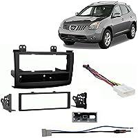 Fits Nissan Rogue 2008-2010 Single DIN Stereo Harness Radio Install Dash Kit