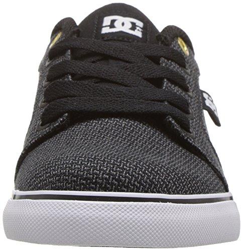 DC - Zapatillas para niño negro/gris/blanco