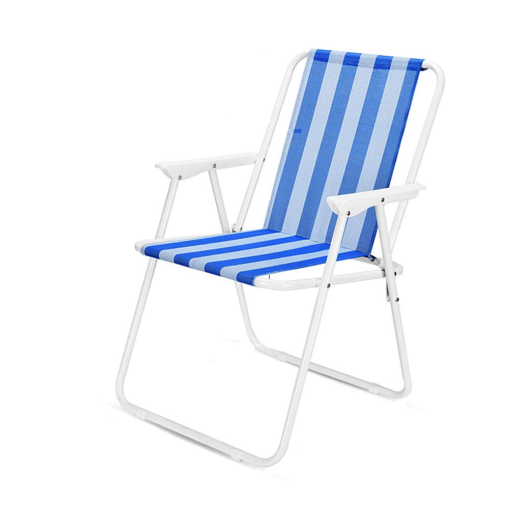 Amazon.com : Folding Chair Portable Beach lounge chair with ...