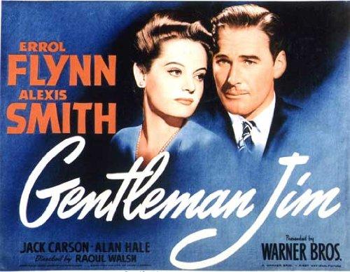 Gentleman Jim Movie Poster (27 x 40 Inches - 69cm x 102cm) (1942) Style E -(Errol Flynn)(Alexis Smith)(Jack Carson)(Alan Hale)(John Loder)