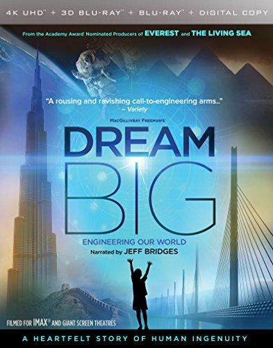 Imax  Dream Big  Engineering Our World  4K Uhd 3D Bluray   Blu Ray