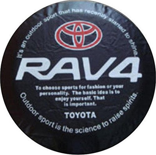 Car Spare Wheel Cover Spare Tire Cover 16 Inch For Toyota (Toyota Rav4 Spare Tire Cover)
